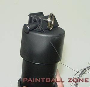 how to make paintball paint
